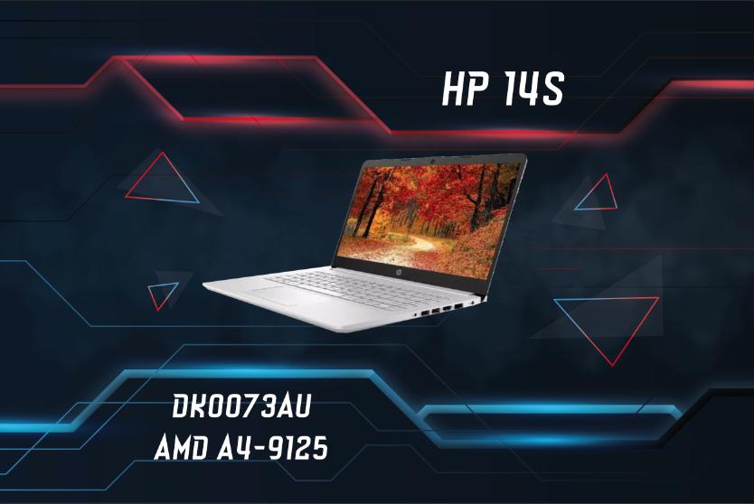 HP 14S DK0073AU AMD A4-9125