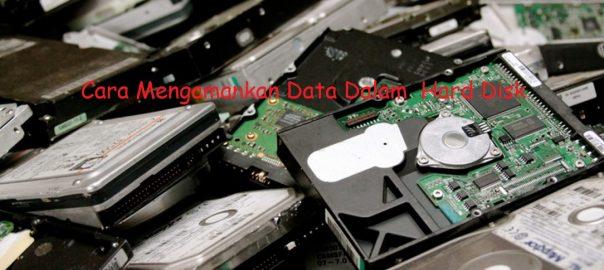 Cara Mengamankan Data Dalam Hard Disk
