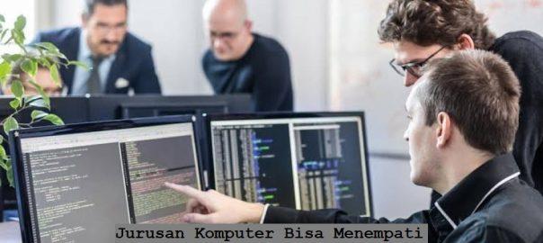 Jurusan Komputer Bisa Menempati Semua Bidang Dalam Pekerjaan